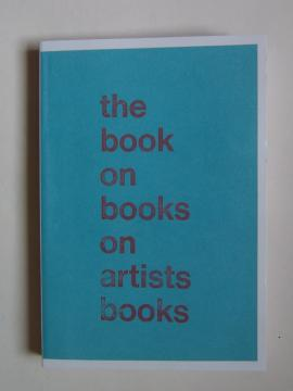 The Book on Books on Artist Books by Arnaud Desjardin cover