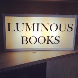 Luminous Books lightbox